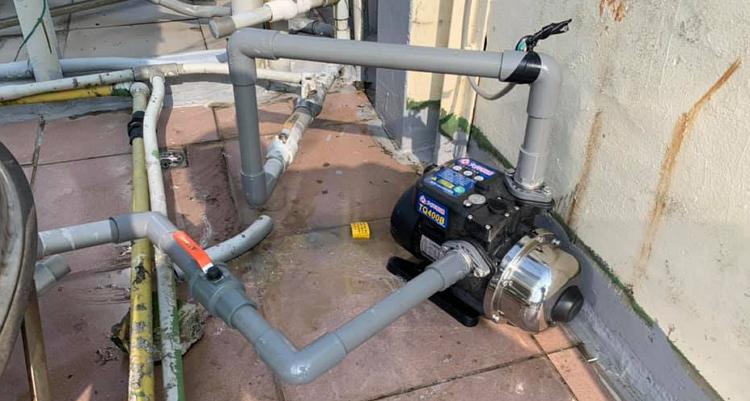 桃園熱水器  加 裝 加 壓 馬達